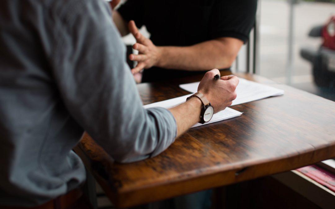 14 saker du inte bör säga på en arbetsintervju för ett lagerjobb